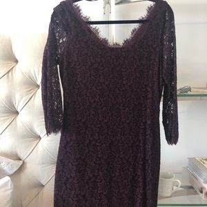 Diane von Furstenberg Zarita Lace Dress-NEVERWORN